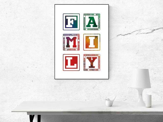 Image Family Multicolore