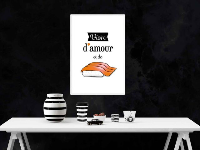 Image Vivre d'amour et de sushis